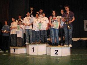 2010 Csapat Dio országos bajnok felsős fiúcsapat
